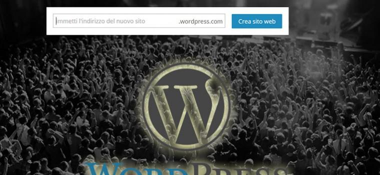 creare un sito web gratis con wordpress