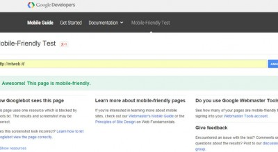 Sito Mobile Friendly Responsive Test