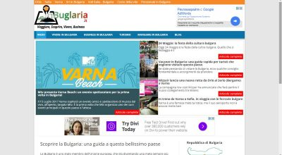 inbulgaria.it homepage